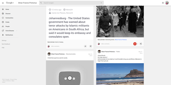 Screenshot 2019-03-31 Brian Francis Pretorius - Google+37