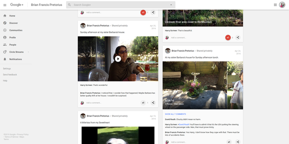 Screenshot 2019-03-31 Brian Francis Pretorius - Google+44