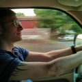 Brian Driving  :-)