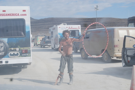 Burning Man Exodus 2011