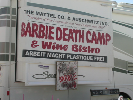 Barbie Death Camp and Wine Bistro