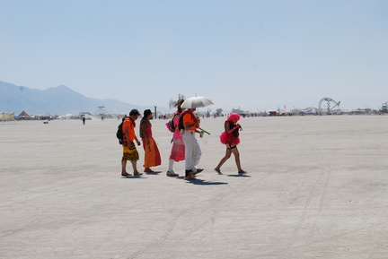 Burners on the Playa