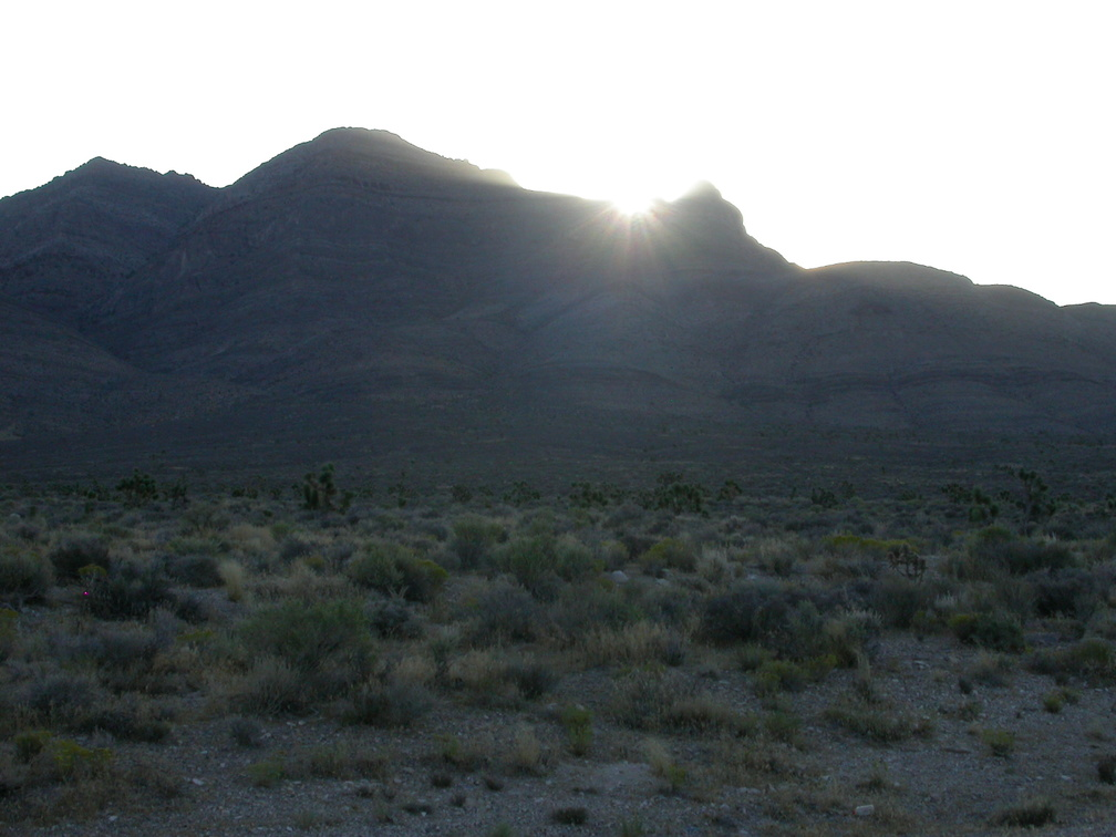 Sunrise in Nevada
