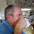 David Enjoying Coffee