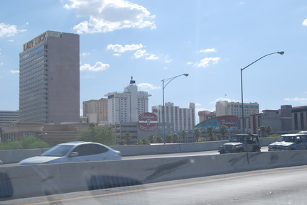 Driving Through Vegas