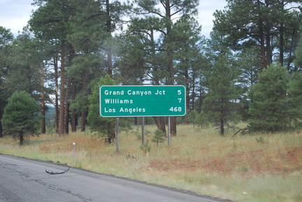 Grand Canyon Exit