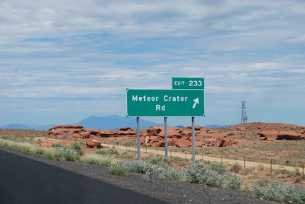 Meteor Crater Rd.