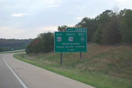Indian Nation Turnpike