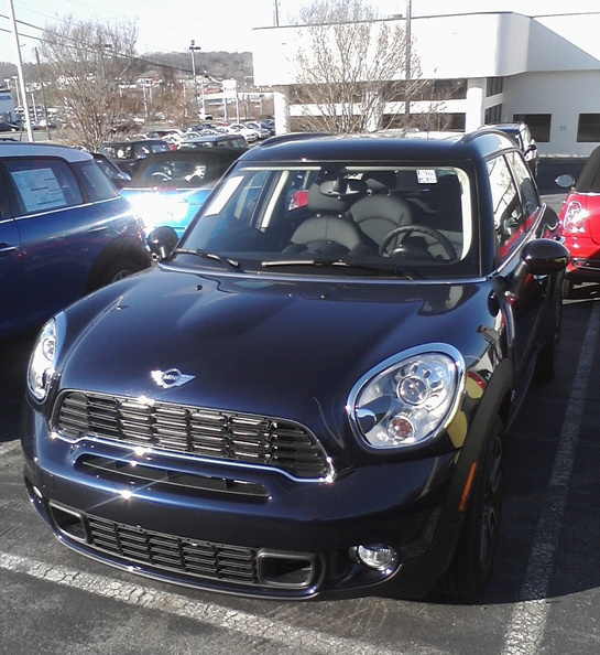 2011 Mini Cooper S Countryman ALL4
