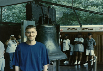 Brian and Liberty Bell