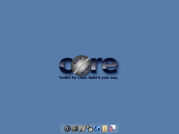 Tiny Core Linux Screenshot
