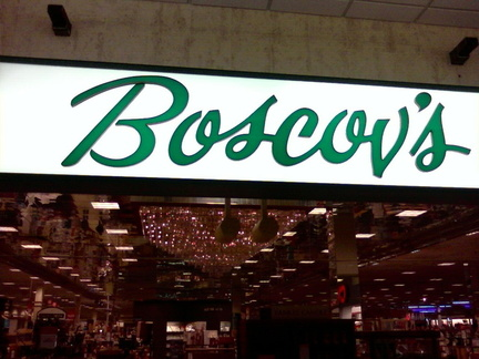 Shopping at the Boscovs