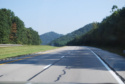 Eastbound in Kentucky