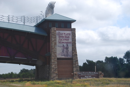 The Great Platte River Road Archway Monument