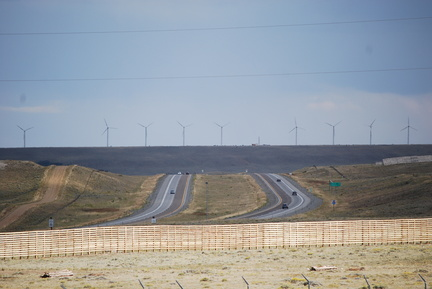 I-80 and Windfarm