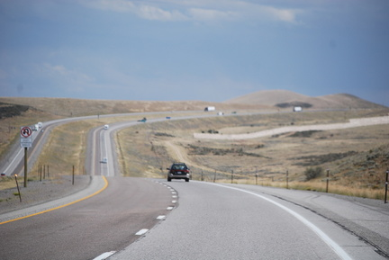I-80 Eastbound in Wyoming