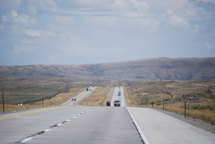 Eastbound in Wyoming