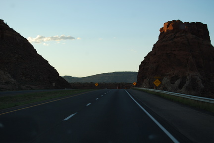 I-40 Westbound in New Mexico