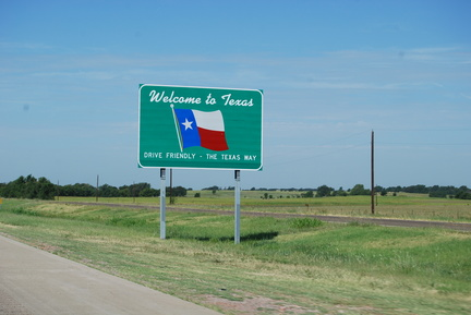 Welcome to Texas! -- 08/26/09