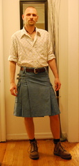 Denim Union Kilt