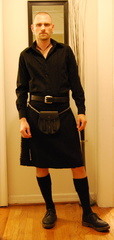 Black Stillwater Kilt