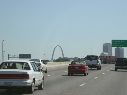 Approaching St. Louis
