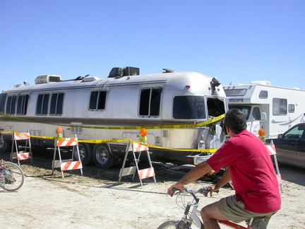Burned Airstream  :-(